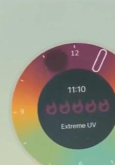 Tia UV tại TP Hồ Chí Minh ở mức rất nguy hiểm, có thể gây hại đến sức khỏe