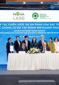 Novaland hợp tác chiến lược với PRO Việt Nam trong phân loại, thu gom rác tái chế tại nguồn