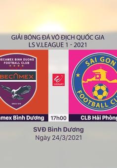 VIDEO Highlights: Becamex Bình Dương 1–0 CLB Sài Gòn (Vòng 5 LS V.League 1-2021)