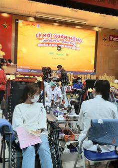 Lễ hội Xuân hồng 2021 dự kiến tiếp nhận 4.000 đơn vị máu