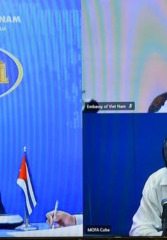 Việt Nam chia sẻ các biện pháp ứng phó COVID-19 với Cuba
