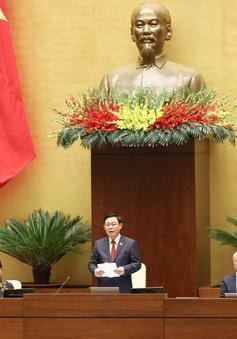 Trình Quốc hội miễn nhiệm 3 Phó Chủ tịch Quốc hội