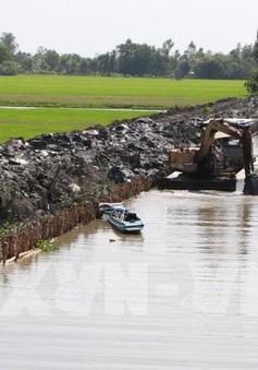 Mặn xâm nhập sâu vào nội đồng tại Đồng bằng sông Cửu Long