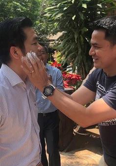 HLV Kiatisuk đón Tết cổ truyền Thái Lan tại Pleiku