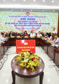 Hà Nội có 36 ứng cử viên đại biểu Quốc hội đủ tiêu chuẩn, 21 người xin rút, 1 người bị bắt