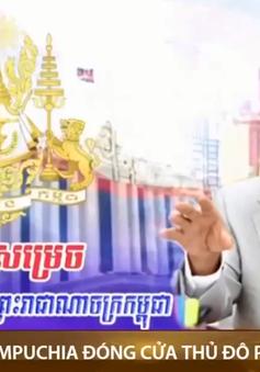 Campuchia đóng cửa thủ đô Phnom penh
