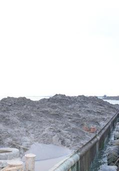 Bắt 2 tàu cẩu khủng khai thác cát trái phép trên sông