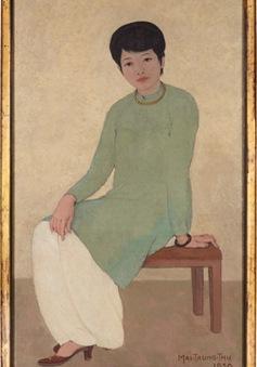 """Bức họa """"Portrait de Mademoiselle Phuong"""" giá 3,1 triệu USD có gì đặc biệt?"""