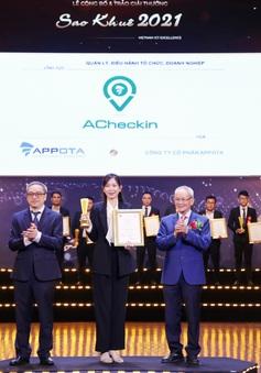 Giải pháp quản trị nhân sự ACheckin nhận danh hiệu Sao Khuê 2021