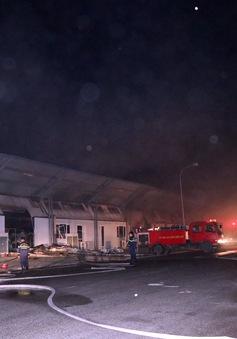 Cháy lớn tại Khu công nghiệp Đại An mở rộng
