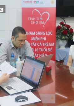 1.600 trẻ tại Bắc Ninh được khám sàng lọc tim bẩm sinh miễn phí