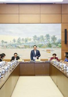 Chủ tịch Quốc hội làm việc với các Ủy ban của Quốc hội