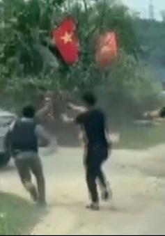 Hàng chục cảnh sát truy đuổi,  nổ súng chặn bắt ô tô chở lượng lớn ma túy