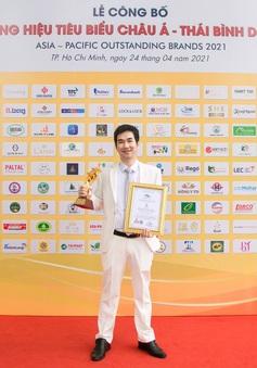 """Giải thưởng """"Top 10 Thương hiệu tiêu biểu châu Á - Thái Bình Dương 2021"""" - Easy Edu vươn mình mạnh mẽ"""