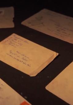 Xúc động những bức thư tay thời chiến