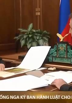 Nga: Tổng thống Putin ký luật cho phép ông tái tranh cử thêm hai nhiệm kỳ