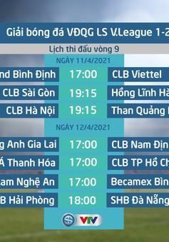 Lịch thi đấu và trực tiếp vòng 9 V.League 2021: Tâm điểm CLB Hà Nội – Than Quảng Ninh, Đông Á Thanh Hoá – CLB TP Hồ Chí Minh