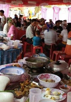 Khu chế biến siêu mất vệ sinh tại nơi xảy ra vụ ngộ độc cỗ cưới ở Đắk Nông