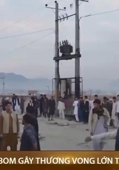 Đánh bom gây thương vong lớn tại Afghanistan