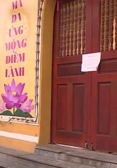 Nhiều chùa triển khai các nghi lễ dưới hình thức trực tuyến