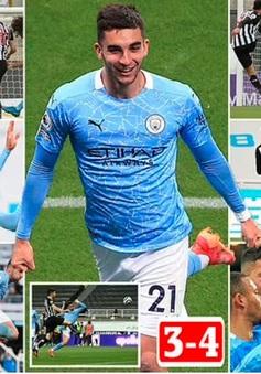 Newcastle 3-4 Man City: Ferran Torres lập hat-trick, MC ngược dòng ngoạn mục