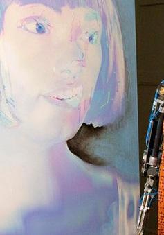 Robot Aida công bố những bức chân dung tự họa đầu tiên
