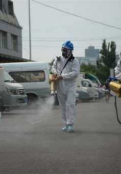 Đài Loan (Trung Quốc) nâng mức cảnh báo dịch COVID-19