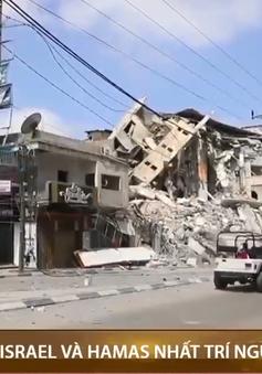 Israel và Hamas nhất trí ngừng bắn