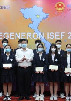 Học sinh Việt Nam đoạt giải Ba tại Hội thi Khoa học Kỹ thuật quốc tế 2021