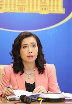 Yêu cầu các bên liên quan tôn trọng chủ quyền của Việt Nam