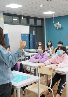 Trường học tại Hà Nội sẵn sàng phương án dạy học trực tuyến