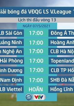 Lịch thi đấu, lịch trực tiếp vòng 13 V.League 2021: Tâm điểm Than Quảng Ninh – Hoàng Anh Gia Lai, B.Bình Dương – CLB TP Hồ Chí Minh
