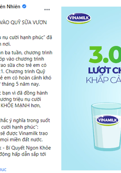 """Quỹ sữa Vươn cao Việt Nam của Vinamilk khởi động năm 2021 với """"31.000 ly sữa yêu thương"""" từ cộng đồng"""