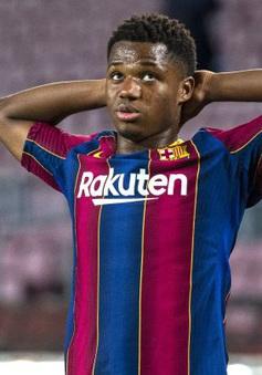 Barcelona đón nhận tin không vui về chấn thương của Ansu Fati