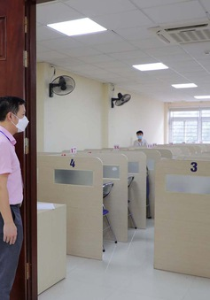 ĐHQG Hà Nội bố trí tối đa 10 thí sinh mỗi ca trong đợt thi đánh giá năng lực