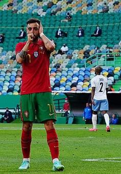 Bruno lập cú đúp, ĐT Bồ Đào Nha giành chiến thắng trước ĐT Israel
