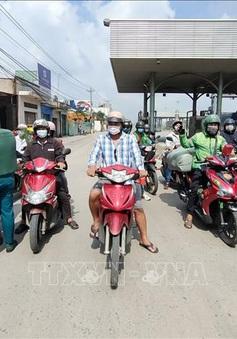 Lập chốt kiểm soát các chợ tại TP Hồ Chí Minh