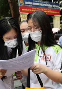 Hà Nội công bố đáp án các môn Kỳ thi tuyển sinh vào lớp 10