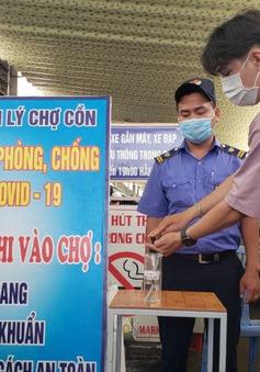 Chợ đầu mối TP Hồ Chí Minh đóng lối đi nhỏ để kiểm soát dịch