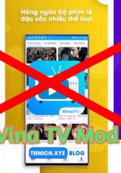 Google Play Store xóa ứng dụng Vina TV do vi phạm bản quyền