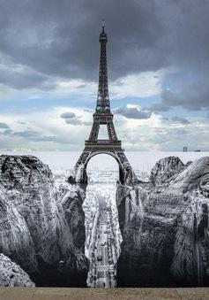 """Ảo ảnh tháp Eiffel trên vách đá gây """"sốt"""" trên mạng"""