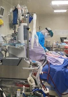 Có 82 bệnh nhân COVID-19 tiên lượng rất nặng, 9 trường hợp can thiệp ECMO