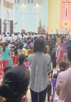 Linh mục tổ chức hành lễ cho 300 người bị phạt 7,5 triệu đồng