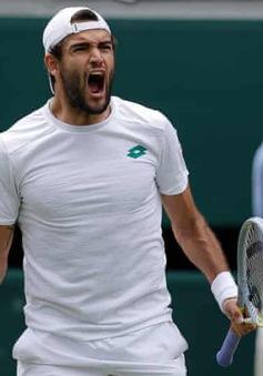 Matteo Berrettini lần đầu vào chung kết Wimbledon