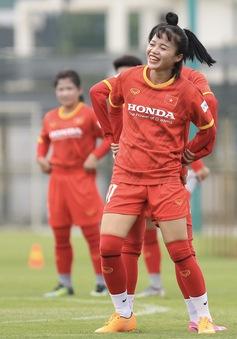Đội tuyển nữ Quốc gia hứng khởi trong buổi tập đầu tiên