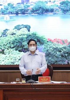 Thủ tướng làm việc với TP Hà Nội: Ưu tiên số 1 là phòng chống dịch