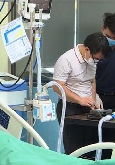Sản xuất thành công máy trợ thở giúp điều trị COVID-19