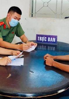 Xử phạt nam thanh niên hướng dẫn khai báo y tế gian dối trên TikTok