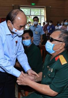 Chủ tịch nước Nguyễn Xuân Phúc gửi Thư nhân kỷ niệm 74 năm Ngày Thương binh, Liệt sĩ