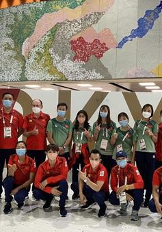6 đội tuyển của Đoàn TTVN đã về tới Hà Nội